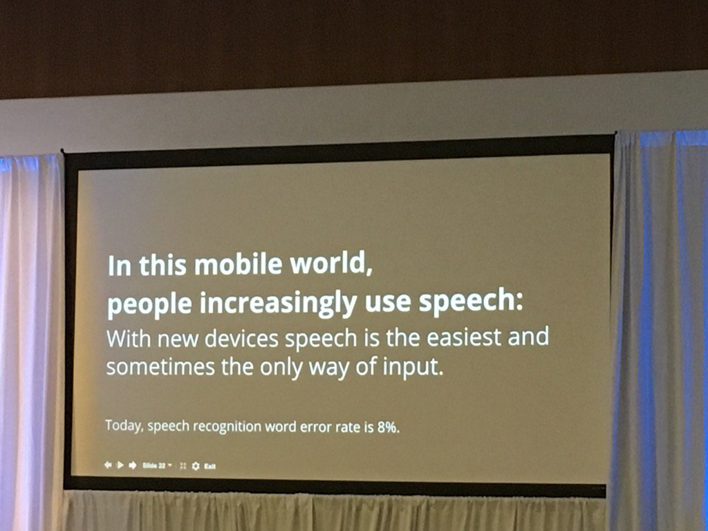 Yep. Voice search is going to be huge. Get ahead of the curve #smx people! https://t.co/D2sqcftp1y