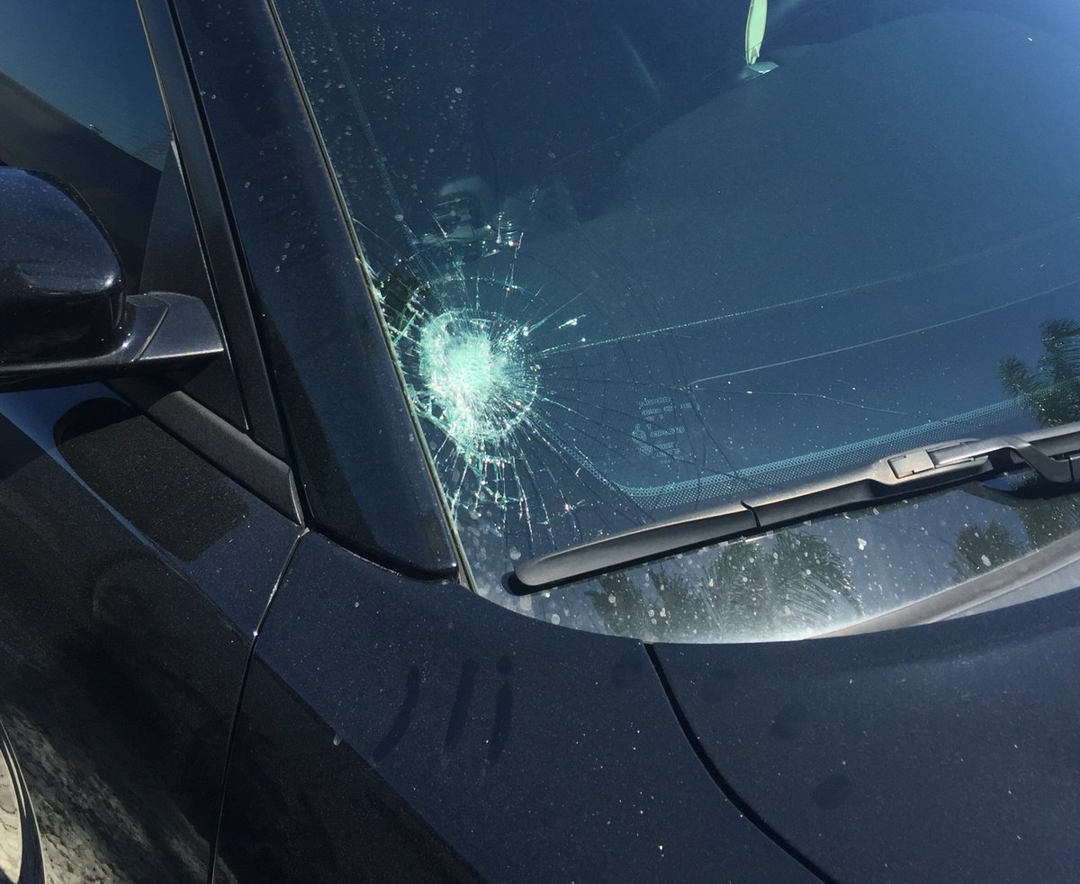 Yes, Maikel Franco hit a ball that shattered the windshield of Freddy Galvis' car during BP. https://t.co/F6OwV7mjxk