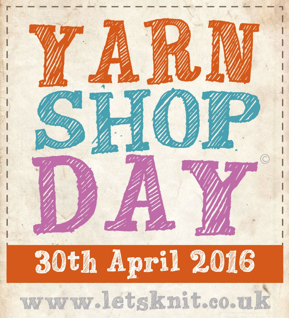 Tell your friends! It's Yarn Shop Day on the 30th April. Put it in your diary now! https://t.co/BTgkdaKVau