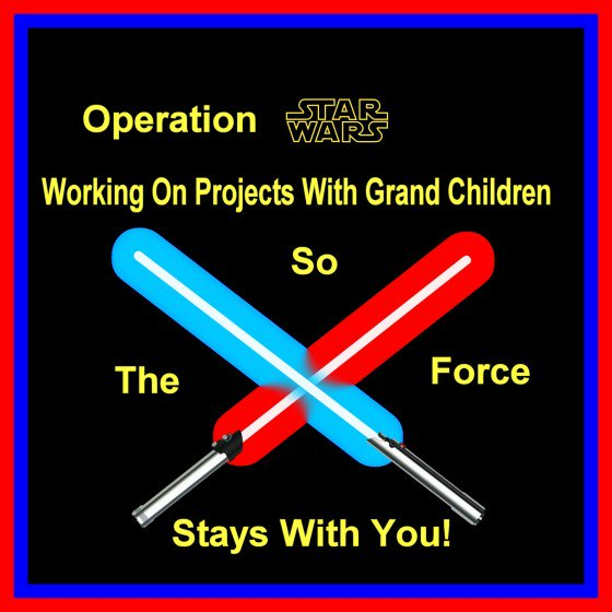 Operation #StarWars  #DIY project for long distance or short distance #grandparents  https://t.co/LSdW4eyhN3 https://t.co/J5YQcef5Ce