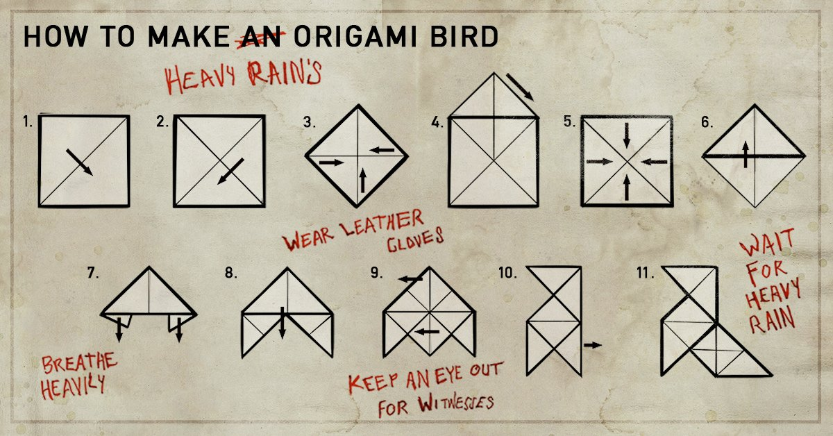 Кто же мастер оригами из heavy rain