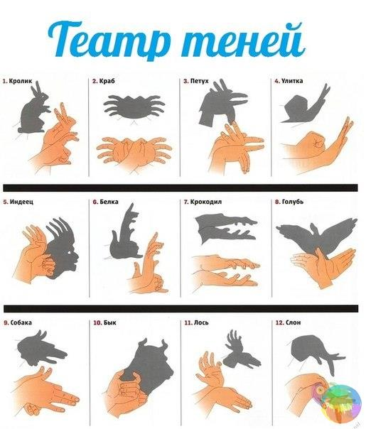 Как сделать фигурки для театра теней своими руками