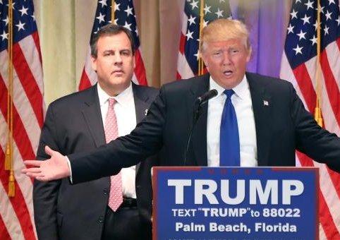 Who did it better? Trump standing next to Palin or Christie standing next to Trump? https://t.co/iqsiHTashH https://t.co/J9U6zHdhxH