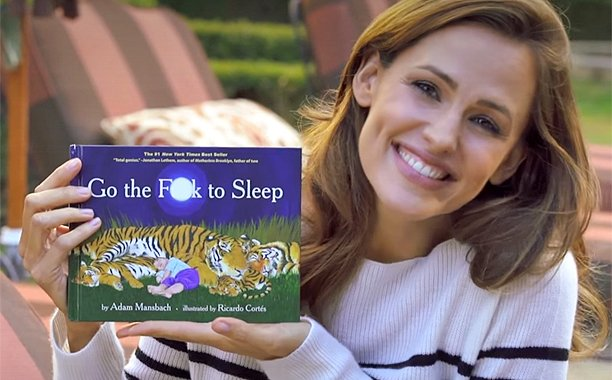 See Jennifer Garner sweetly read 'Go the F— to Sleep':