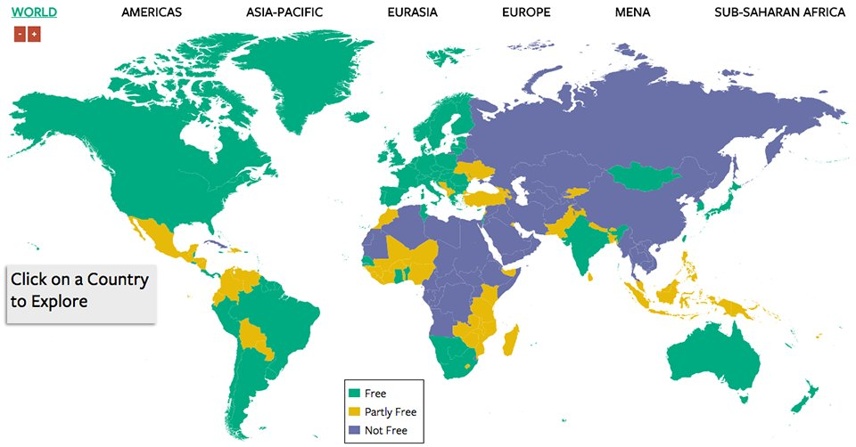 72 countries experienced a decline in #freedom while only 43 made gains via @FreedomHouseDC https://t.co/UmJSFWCvkm https://t.co/dcvIIsxRt6