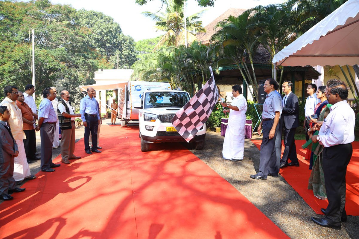 Campinn caravan tours accredited by Kerala tourism Dept inaugurated today by Hon.Tourism Minister Anil Kumar . https://t.co/5nBXsRAh39