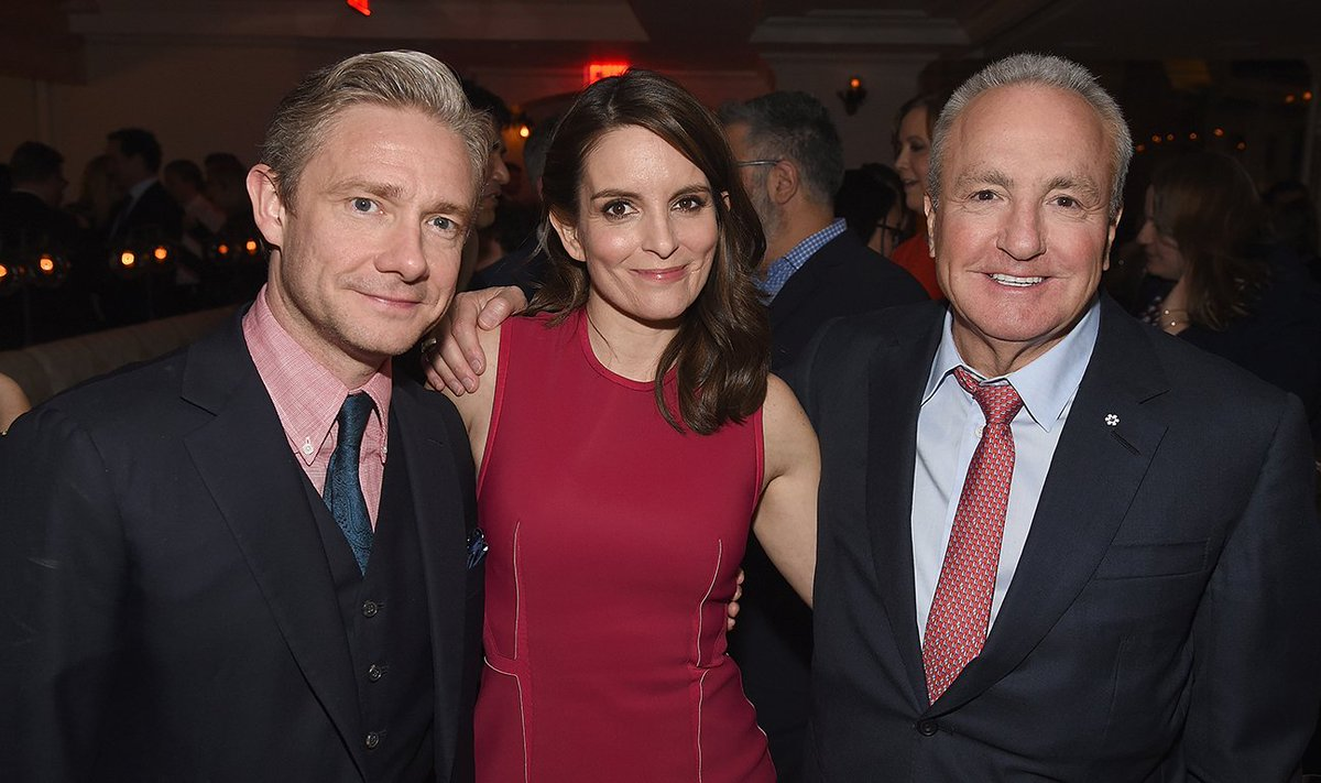 Tina Fey Quietly Dedicates 'Whiskey Tango Foxtrot' to Her Late Father