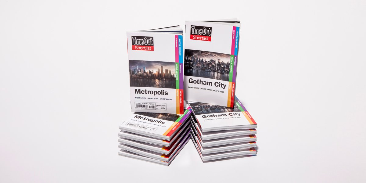 Great review of our Time Out guidebook to Gotham and Metropolis on Amazon:
