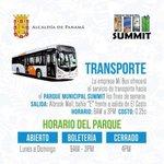 ¡Recuerda! que los fines de semana puedes visitar el @ParqueSummit en la ruta de #metrobus hasta las 3:00 P.M. https://t.co/pSIR5e2MSa