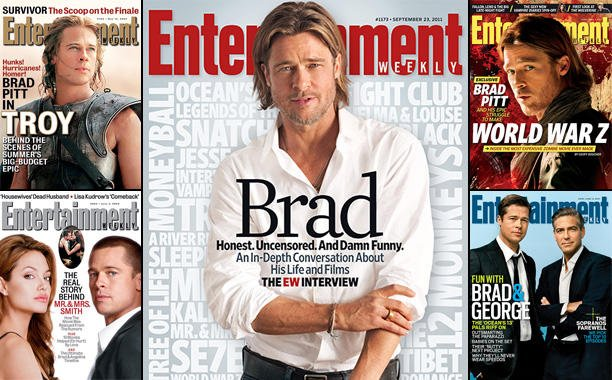 Celebrate the 15th anniversary of 'The Mexican' with all of our Brad Pitt covers: