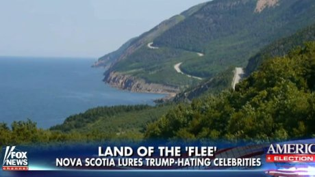 Fox News calls Cape Breton 'Land of the flee' for Trump haters https://t.co/QpBj8KS5bs https://t.co/A7fh1KPKNH