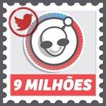 Agora somos + de 9 milhões. Agradeço à você pela companhia crítica e criativa. Arigatô! #Tas9M https://t.co/0nD4vOw0tA