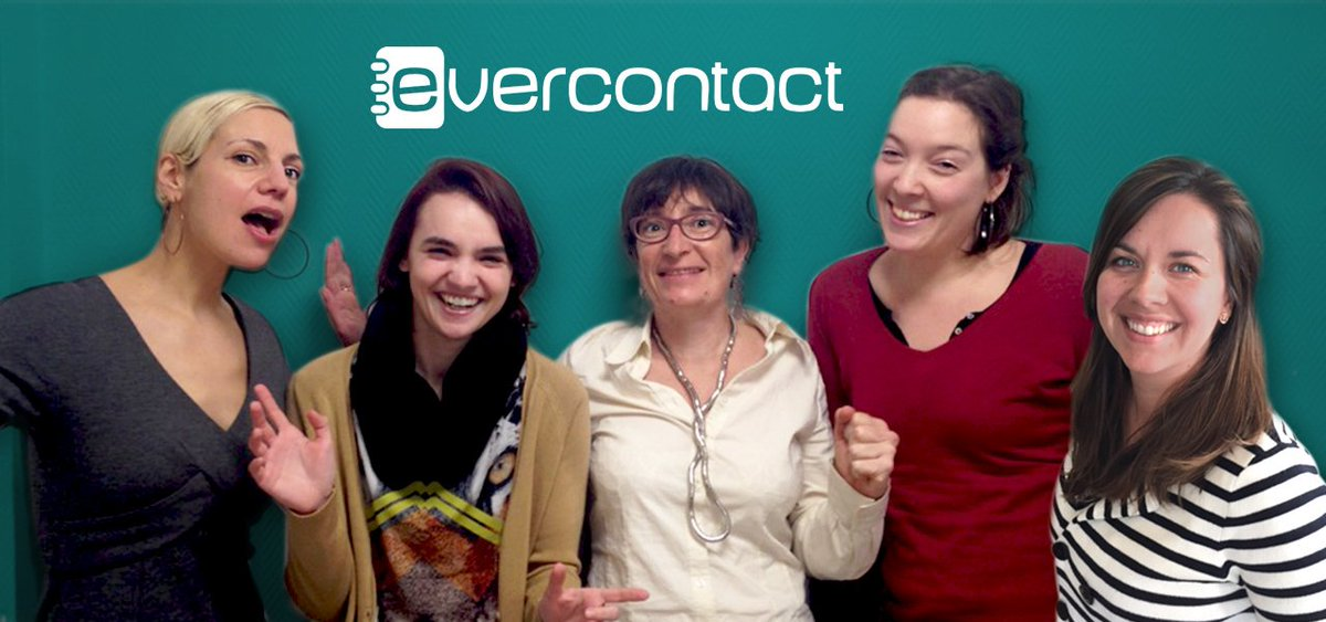 International Women's Day #PledgeForParity: Meet Evercontact, gender-balanced Tech #Startup! https://t.co/SOqvheWFuQ https://t.co/aFyCLRuqt3