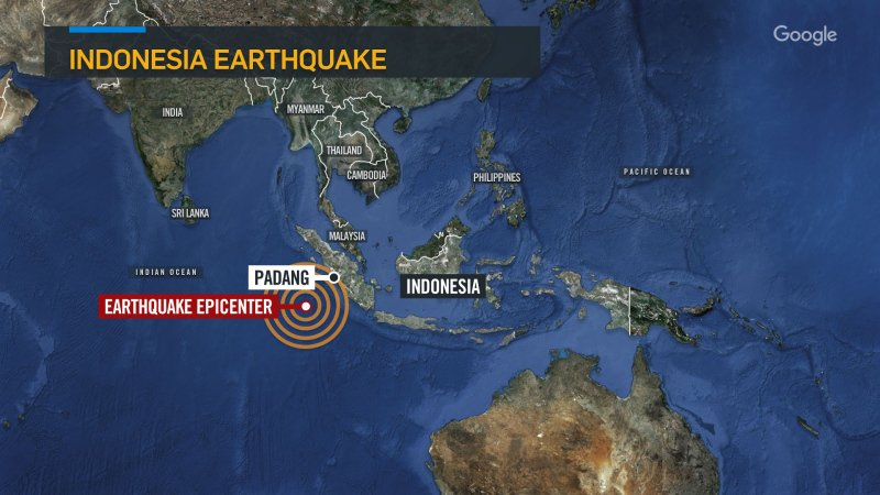 UPDATE: Tsunami warning lifted after powerful earthquake off Indonesia