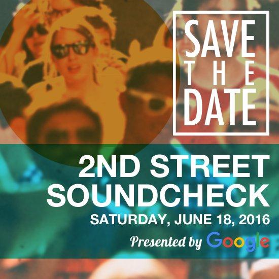 2nd Street Soundcheck returns June 18 benefiting @austinmusic & @KUTX! Info: https://t.co/ddUHKsJfJK #2SDSoundcheck https://t.co/AEgAC1w9TH
