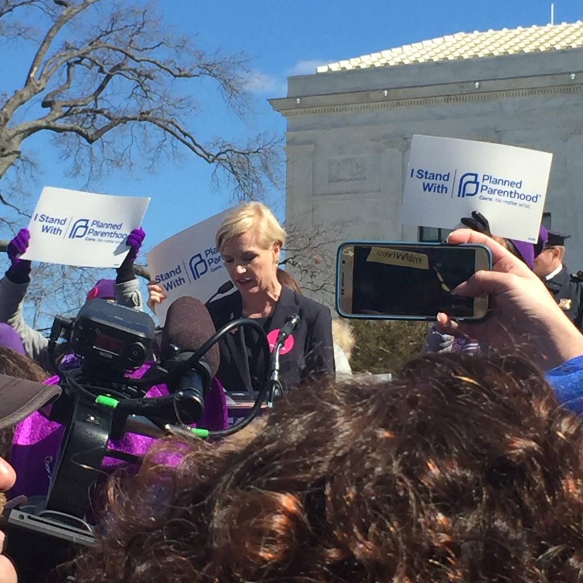 """Not a single woman in this country wants her daughter to have fewer rights than she"" — @CecileRichards #StopTheSham https://t.co/8oMNkbIvrg"