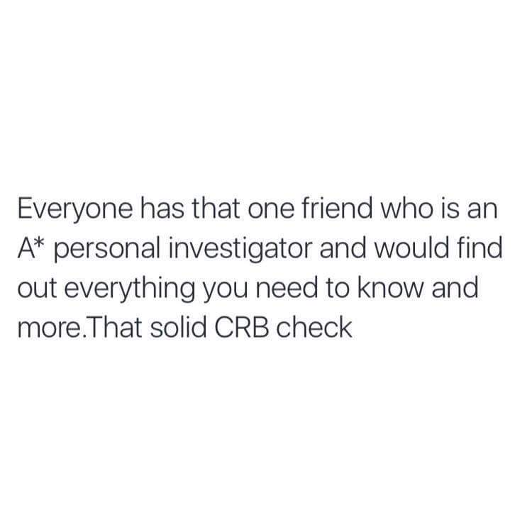 I am this friend