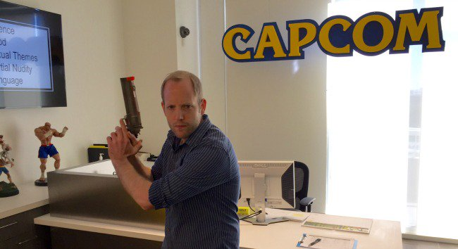 Proud to announce that today is my first day...  Working.   At.   CAPCOM!  https://t.co/mdzVUKux41 https://t.co/ximopNYbEl
