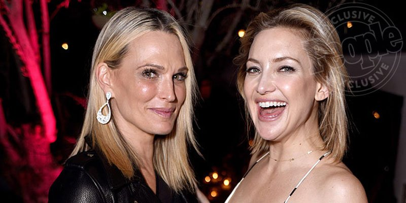 EXCLUSIVE: Kate Hudson celebrates book launch with @goldiehawn, @nicolerichie & @MollyBSims