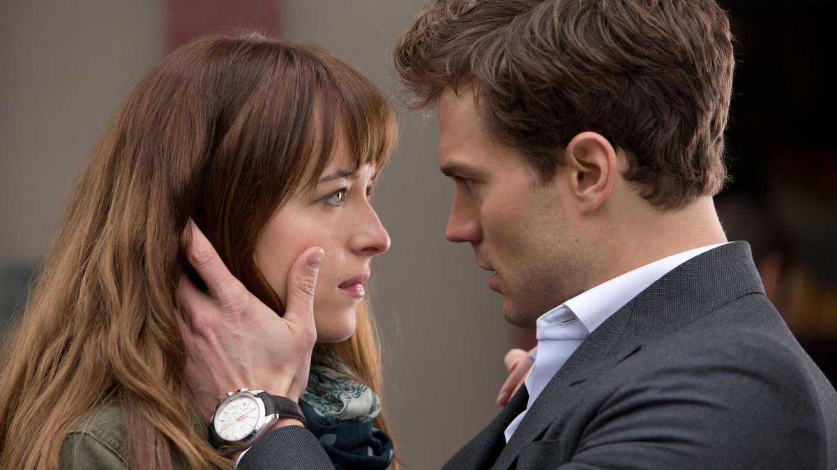 Jamie Dornan + Dakota Johnson just filmed Fifty Shades Darker's most cringe-worthy scene:
