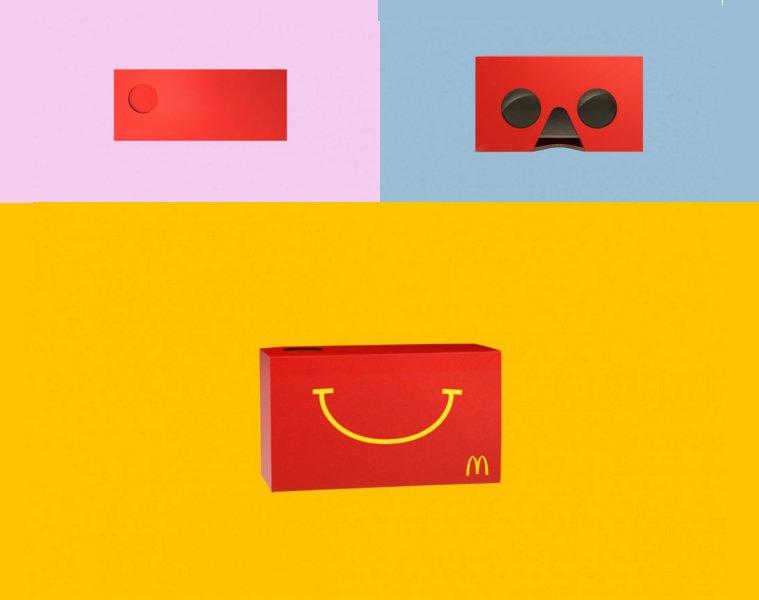 Caixa de McLanche Feliz vira óculos virtual: https://t.co/Jwe5D17cNe https://t.co/naEl5RG6ha