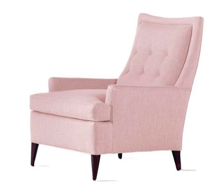 TOP PICK by @JennBrouwer Jessica Charles Estate Chair references Pantone's color of the year rose quartz . #HPmkt https://t.co/qo8hXS9h3A