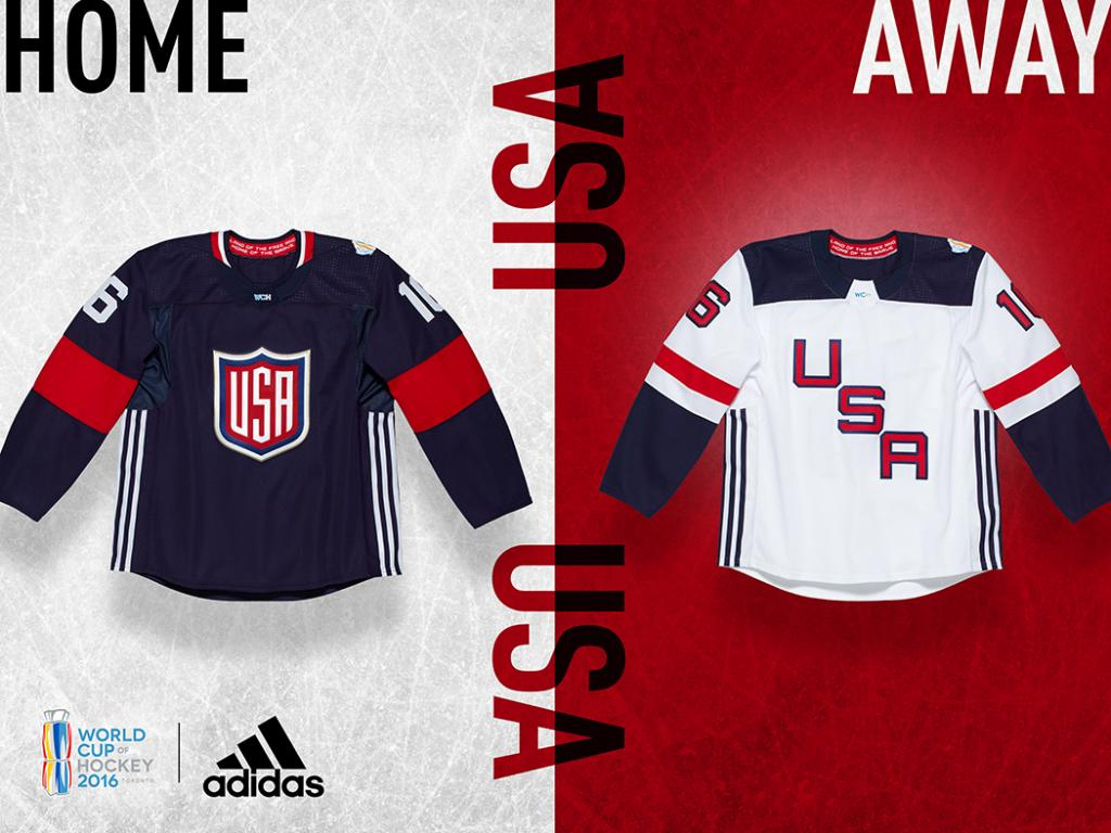 Check out the USA #WCOH2016 home and away jersey.  Learn about the team roster here: https://t.co/dhERLcbZge https://t.co/yjnQ9IpwfE