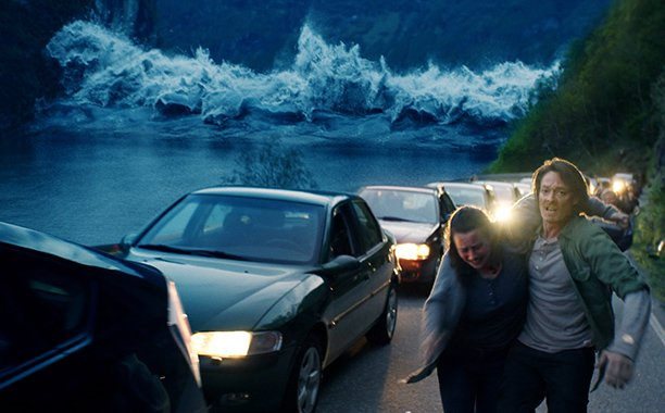 'The Wave' seems like a better fit for the Syfy channel than the theater. Our review: