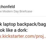My thoughts on The Modern Day Briefcase on @ProductHunt https://t.co/GUNXdaja4A https://t.co/oLNSOIvPmr