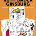 Notorious RBG riding a unicorn and stunting like Drake makes for an epic coloring book https://t.co/FIOL82KYbH https://t.co/ZpxdUmlAVf