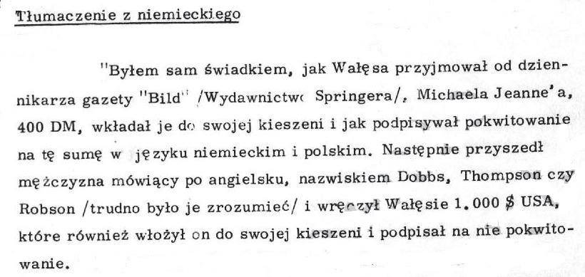 Notatka Dep I MSW z informacji od niem informatora. #Wałęsa https://t.co/mUd0FgOYsv