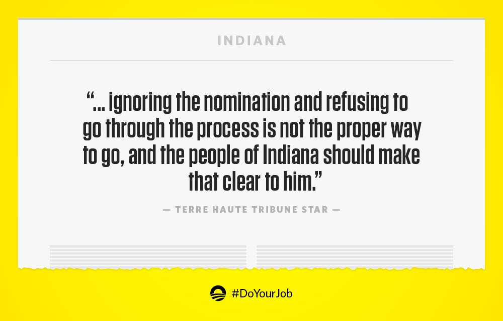 It's time for @SenDanCoats to do the job Indianans are calling on him to do. #DoYourJob https://t.co/UXFi5GXU4L