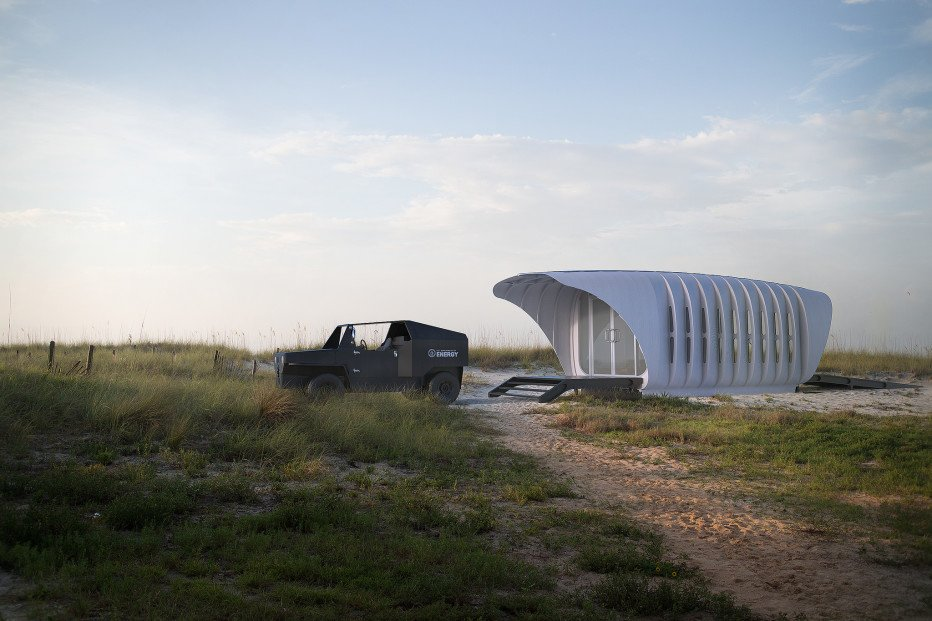 This tiny 3-D printed building shares its energy with an (also 3-D printed) SUV https://t.co/7e0zgLj7eu https://t.co/NckqOf80DX