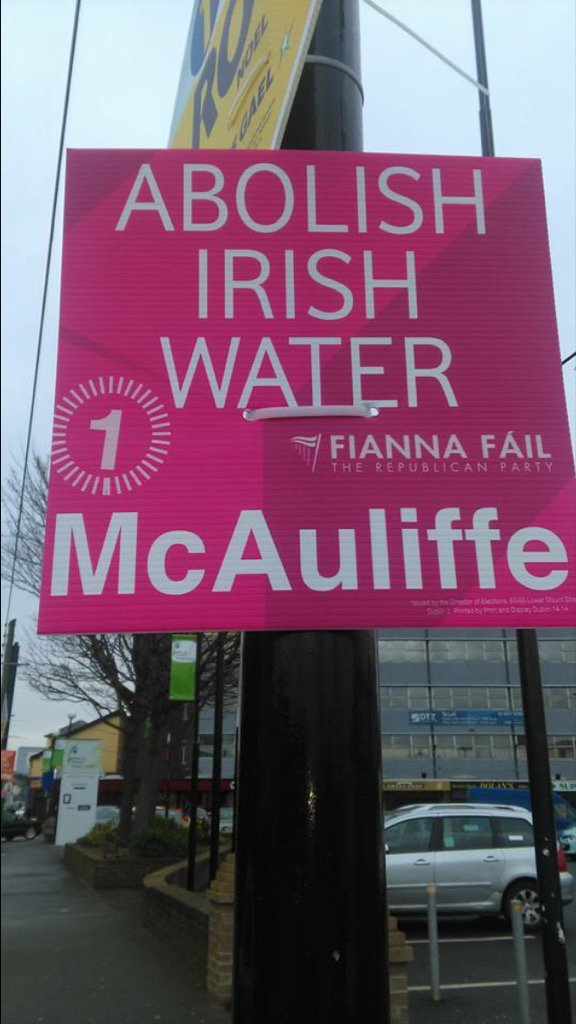 A reminder for #FiannaFail Backtrack on #IW & you'll be decimated. You're on your last chance ! #Right2Water #GE16 https://t.co/BqAGsrRKST