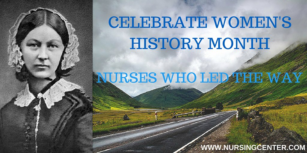 For #WomensHistoryMonth, here are exceptional females who helped shape nursing! https://t.co/J5laUPzFyO #nurses https://t.co/anQtq3uQ7q