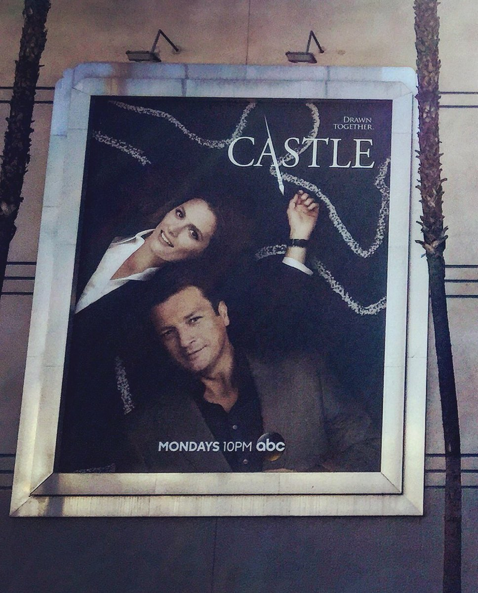 On my way to film @Castle_ABC Love the show excited to do something different https://t.co/oOwa2Lvz1X