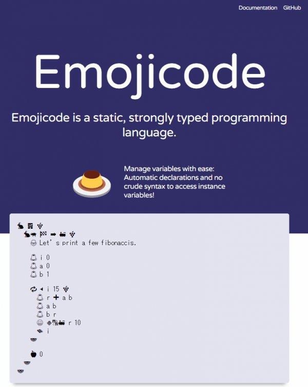 絵文字プログラミング言語 emojicode https://t.co/6somkjTpSQ https://t.co/fZXX05N4Rg