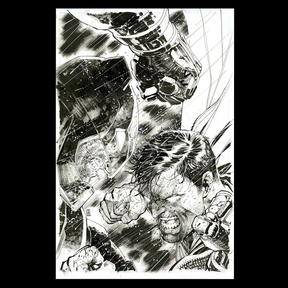 Finished Batman V Superman cover #BatmanvSuperman #dccomics #whowillwin https://t.co/H2ATfxa8Dk