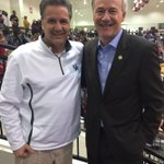 With Asa Hutchinson, the governor of Arkansas. https://t.co/hiEHSbp3kw