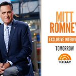 Tomorrow on TODAY... @MittRomney talks to @MLauer in an exclusive interview. https://t.co/nanepp8dXh