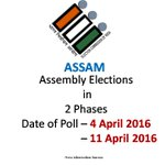 RT @PIB_India: LIVE: #AssemblyElections in #Assam in 2 Phases https://t.co/uNnTXmmo8f