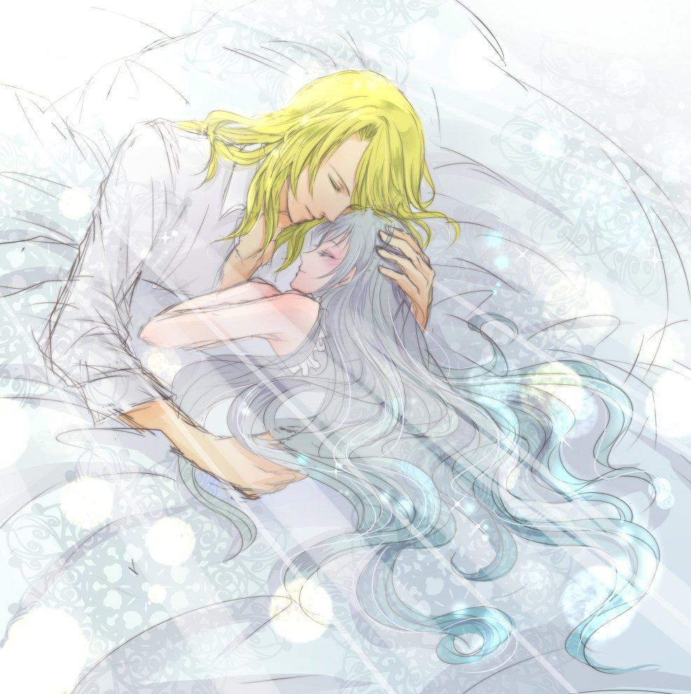 プリリズ49話でジュネ様が聖さんのこと想いながら苦しそうに寝ている回想シーンで、この横に聖さんがいてジュネ様抱きしめて眠