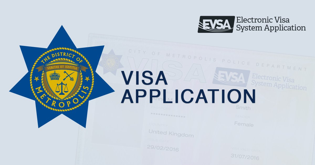 Have you applied for your official visa to Metropolis yet?