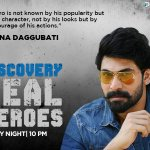 RT @DiscoveryIN: Join @RanaDaggubati as he talks about men who defy nature's extreme conditions and come out as winners. https://t.co/zuHWO…