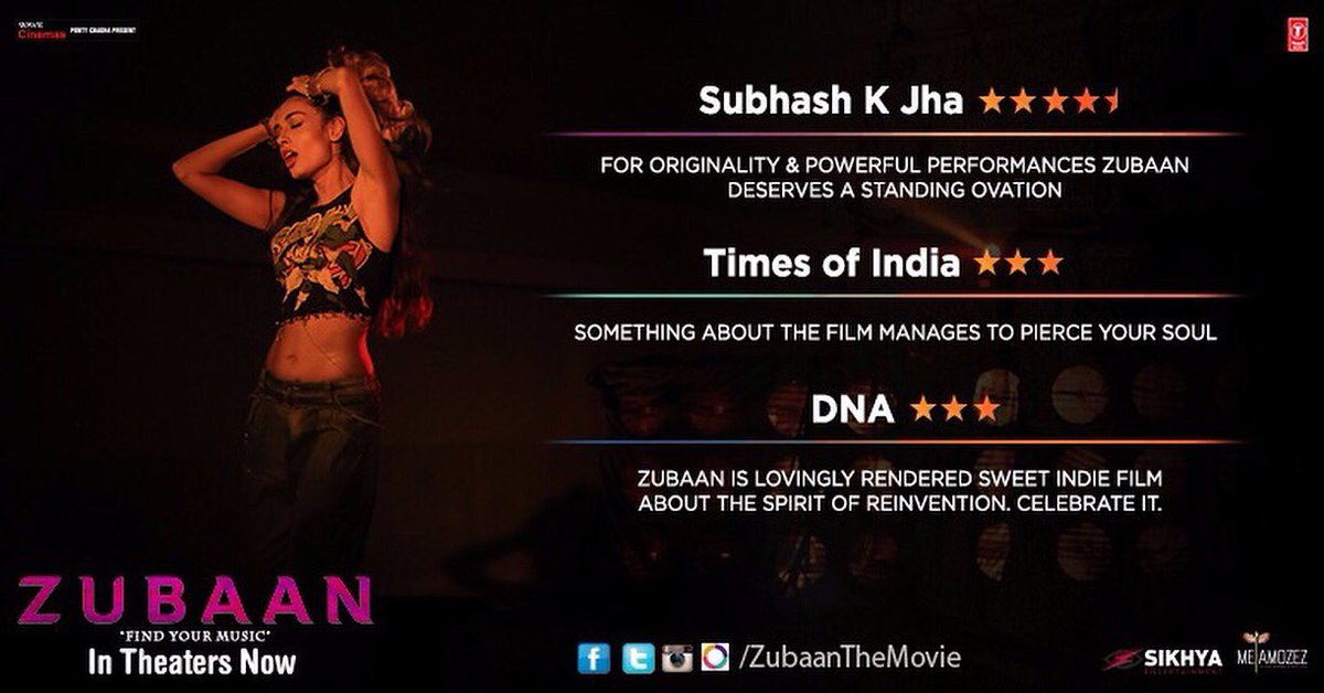 Thankyou For The Love! Wow! @ZubaanTheMovie ❤️❤️❤️ https://t.co/EGmQBYEdtf