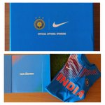 RT @anishapadukone: Thank you @nikecricket for the super stylish new jersey. Can't wait to wear with pride #BleedBlue #ChaseGreatness https…