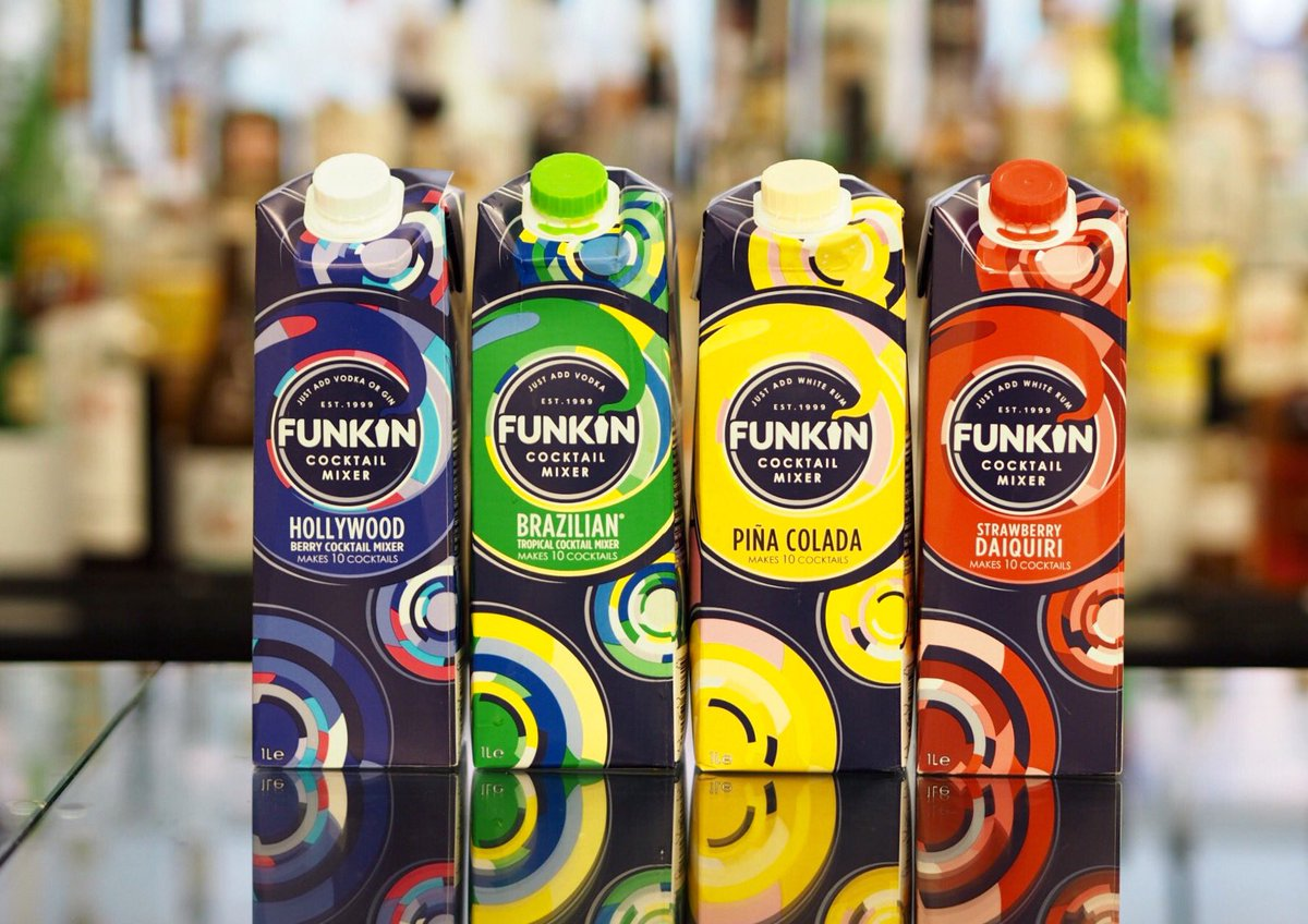 Hey guys! We know you love cocktails so #RT and #follow to win this stash on #funkcocktail mixers! #FreebieFriday