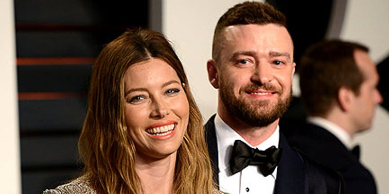 Jessica Biel gets the cutest birthday message—and a kiss—from her 'Huz' Justin Timberlake