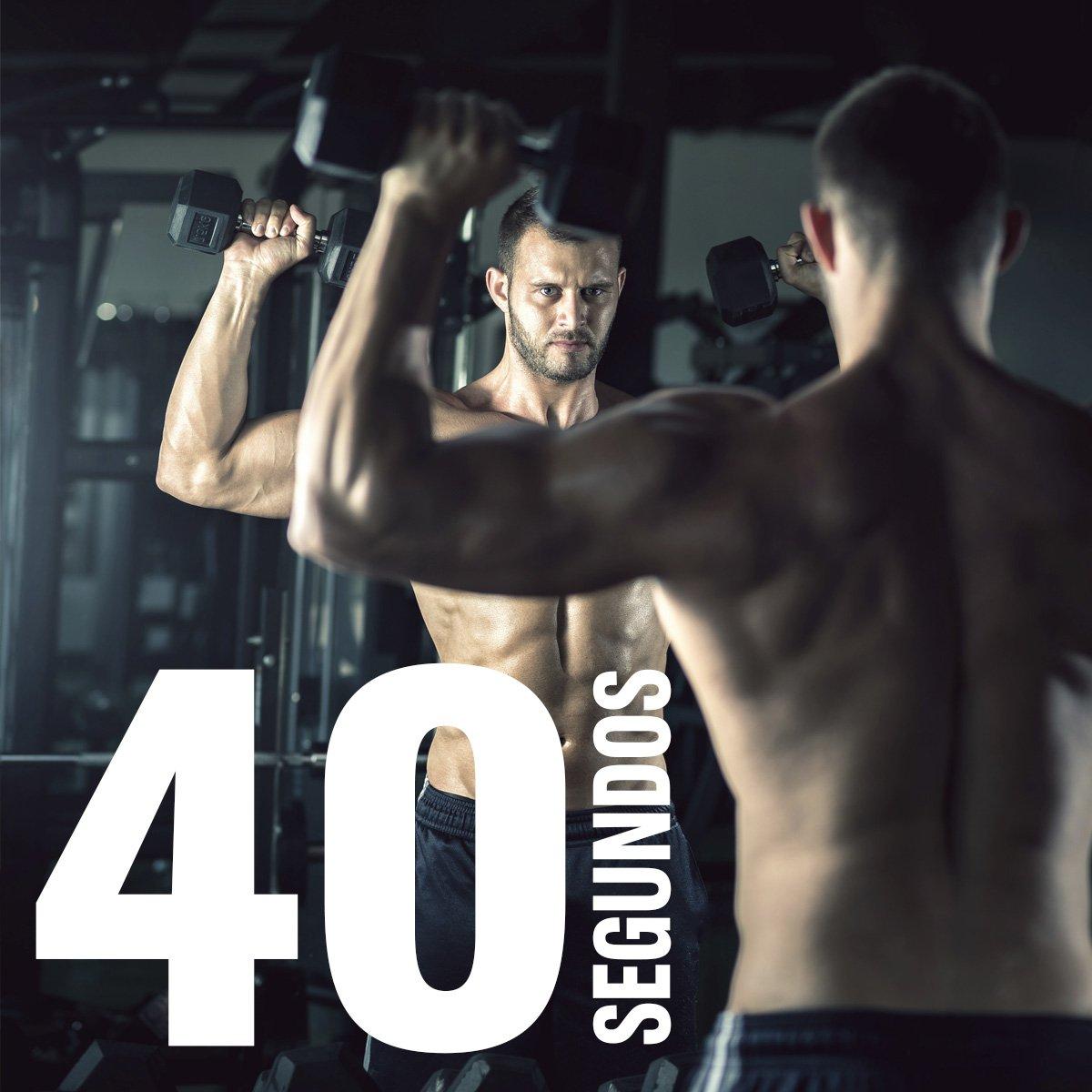 """40"""" es el mínimo que los #músculos deben estar bajo tensión en cada serie si quieres estimular su crecimiento. https://t.co/iX3qdndkIb"""