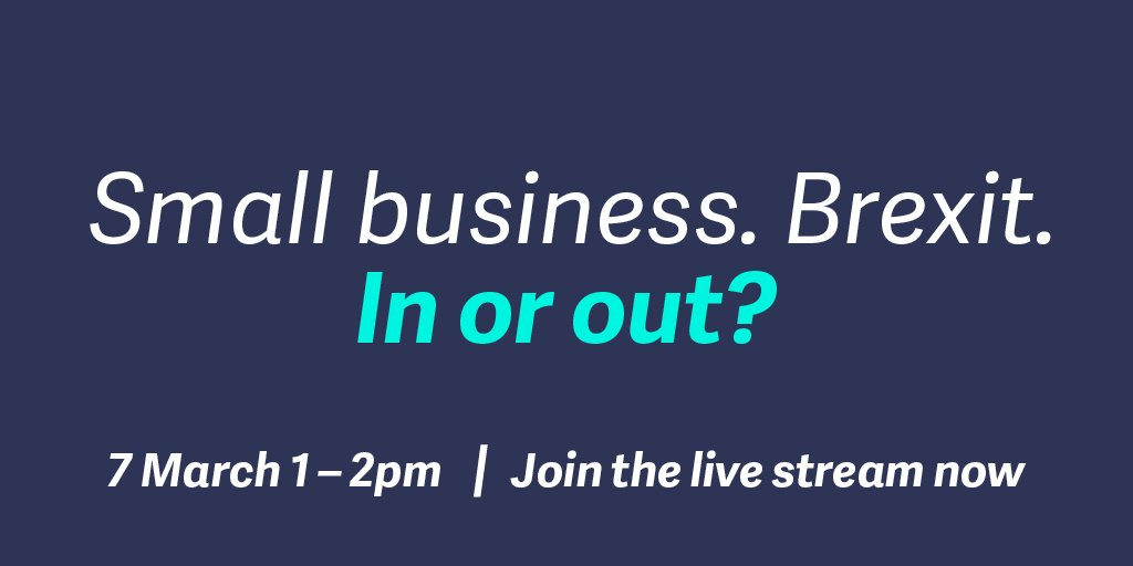 Tell everyone. #Smallbiz are ready to be heard in the EU debate #SageDebateEU. Sign up https://t.co/NEBl6L9mQu https://t.co/NgKJBV4XoE